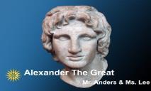 Alexander PowerPoint Presentation