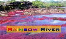 Rainbow River PowerPoint Presentation