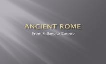 Ancient Rome Wikispaces PowerPoint Presentation
