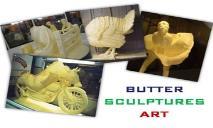 Butter Sculptures Art PowerPoint Presentation