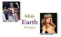 List Of Miss Earth PowerPoint Presentation