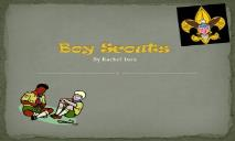 Boy Scouts Wikispaces PowerPoint Presentation