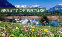 Nature Beauty PowerPoint Presentation