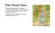 The Dead Sea University of Dayton PowerPoint Presentation