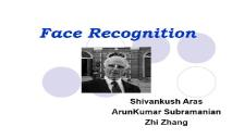Face Recognition Technology PowerPoint Presentation