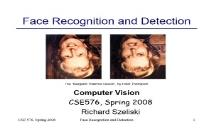 Face recognition PowerPoint Presentation