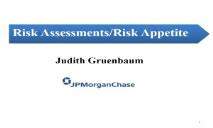 Risk Assessments Risk Appetite PowerPoint Presentation