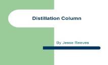 Distillation Column PowerPoint Presentation