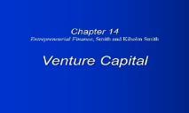A Venture Capital PowerPoint Presentation