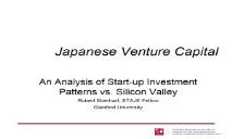 The Future of Japanese Venture Capital PowerPoint Presentation