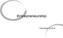 Raising venture Capital PowerPoint Presentation