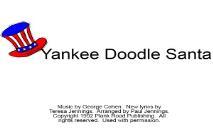 Yankee Doodle Santa - Bulletin board system PowerPoint Presentation