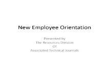 New Employee Orientation Wiki PowerPoint Presentation