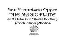 San Francisco Opera THE MAGIC FLUTE PowerPoint Presentation