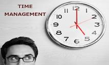TIME MANAGEMENT PowerPoint Presentation