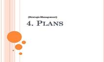 Plans PowerPoint Presentation