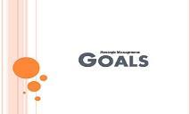 Strategy Formulation Goals PowerPoint Presentation