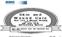 Skin Care Wound Healing PowerPoint Presentation
