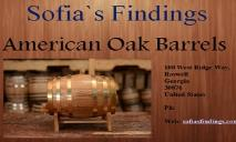 American Oak Barrel PowerPoint Presentation