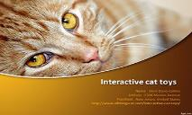 Essential products for cats-Interactive cat toys-Catz PowerPoint Presentation