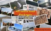 Incredible India Tour Packages| FlywithAJ Travels PowerPoint Presentation