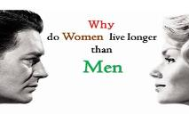 Why Do Women Live Longer Than Men PowerPoint Presentation
