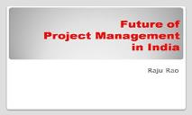 Future of Project Management In India PowerPoint Presentation