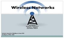 Wireless Networks PowerPoint Presentation