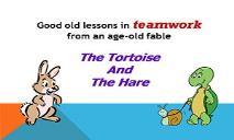 Teamwork A Story PowerPoint Presentation