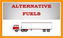 Alternate Fuels PowerPoint Presentation