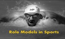 Role Models In Sports PowerPoint Presentation