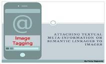 Image Tagging Digital Image PowerPoint Presentation