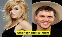 American Idol Winners PowerPoint Presentation