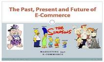 Past present future ecomm PowerPoint Presentation