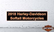 2018 Harley-Davidson Softail Motorcycles PowerPoint Presentation