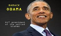 Barack Obama 44th President of the United States PowerPoint Presentation