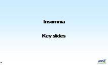 Insomnia PowerPoint Presentation