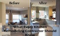 What every kitchen remodeling contractor should know PowerPoint Presentation