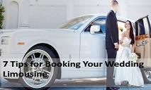 7 tips for booking your wedding limousine PowerPoint Presentation