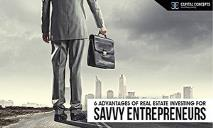 6 Advantages of Real Estate Investing for Savvy Entrepreneurs PowerPoint Presentation