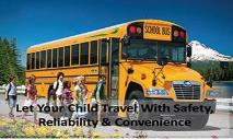 Let your child travel with safety, reliability & convenience PowerPoint Presentation