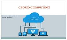 Cloud Computing Future Tech PowerPoint Presentation