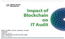 Impact of Blockchain on IT Audit PowerPoint Presentation