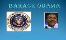 Leader Barack Obama PowerPoint Presentation