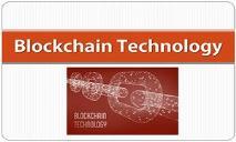 Blockchain Technology PowerPoint Presentation