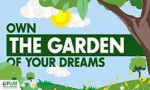 Own The Garden of Your Dreams PowerPoint Presentation