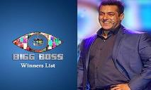 Bigg Boss Winners List PowerPoint Presentation