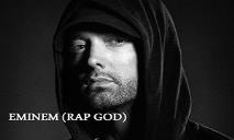 Eminem The Rap God PowerPoint Presentation