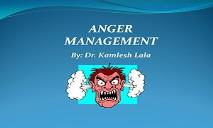Anger Management PowerPoint Presentation
