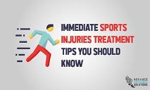 Immediate Sports Injuries Treatment Tips You Should Know PowerPoint Presentation
